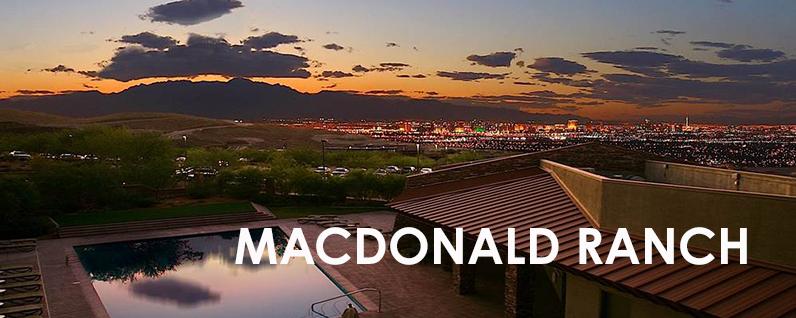 MacDonald Ranch Henderson Community